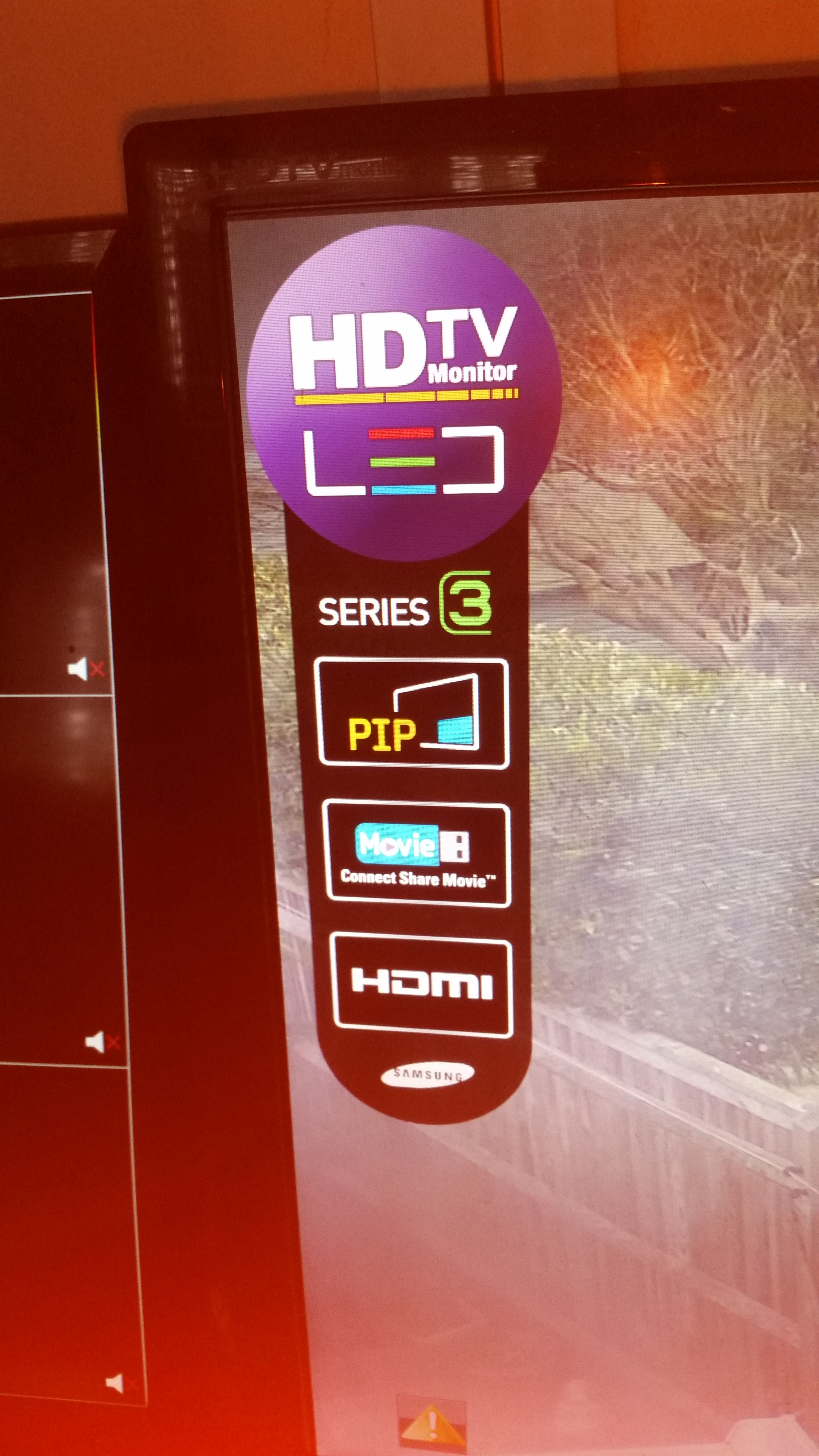 Solved: Annoying icon stuck on TV UE40 - Samsung Community
