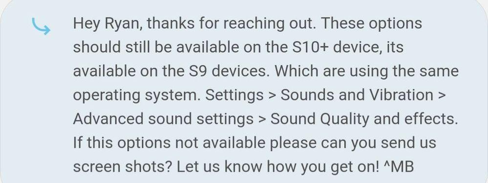 Sound Effects [concert hall, equalizer wheels, etc] - Samsung Community