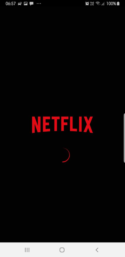 Downloaded the official app from Netflix' site