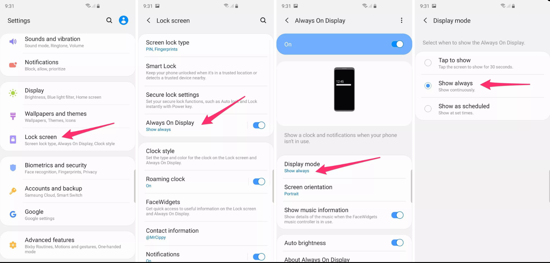 S9 and Led Cover  Cover is not working after Android Pie Update