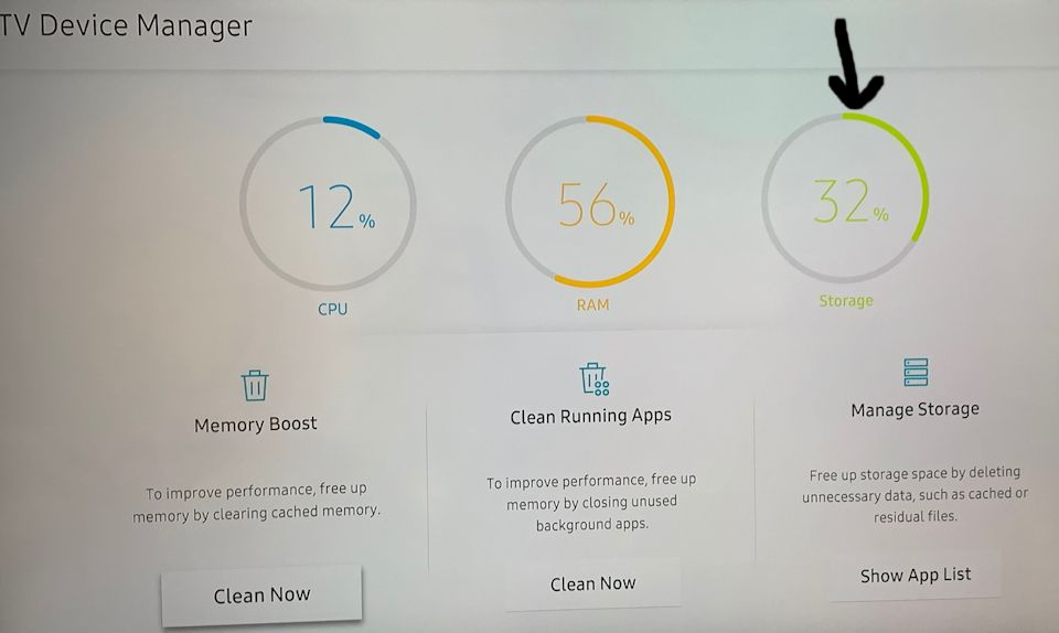 Apps storage space issue - Samsung Community