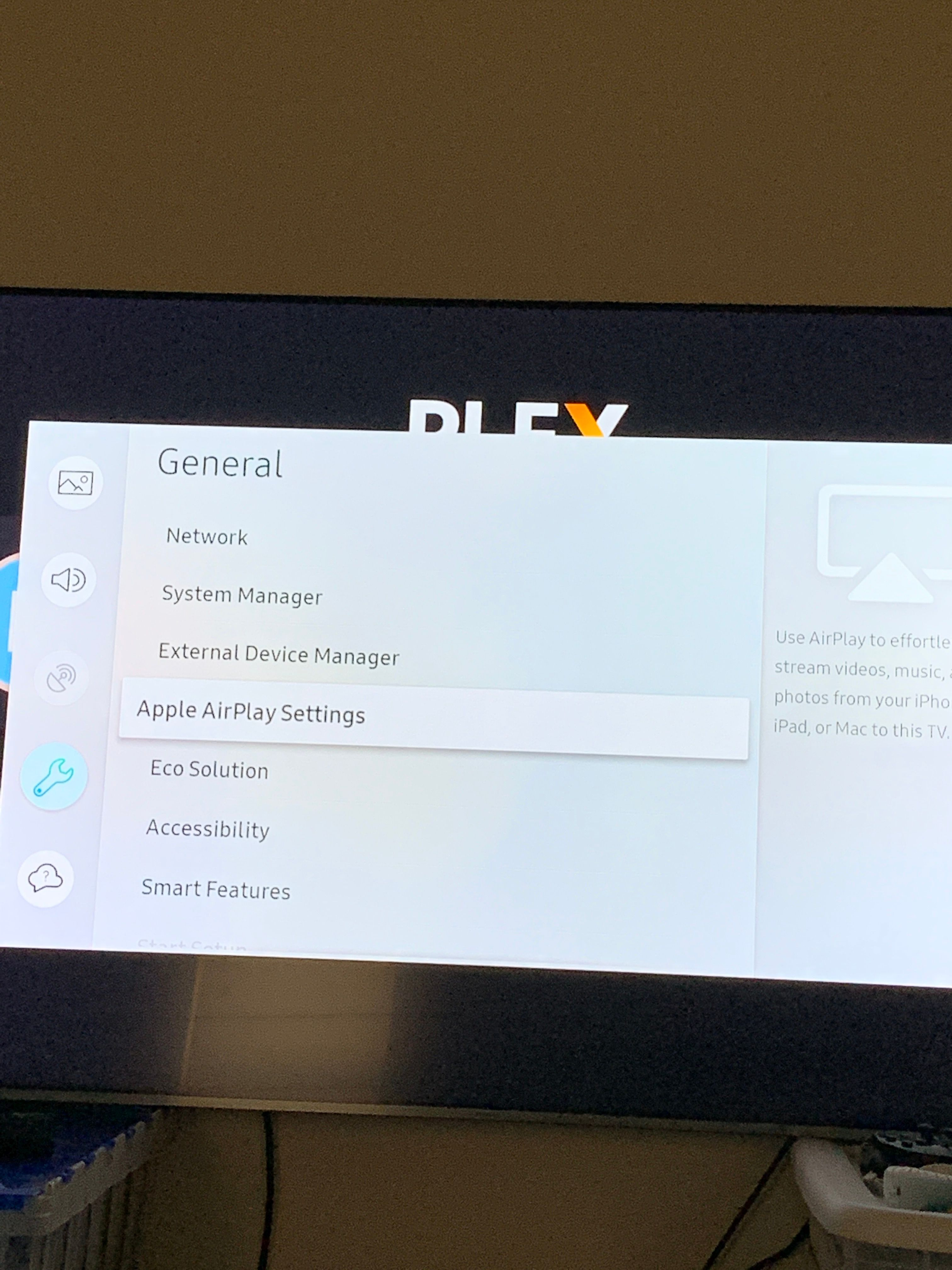 Solved: Samsung Smart TV Airplay function not working