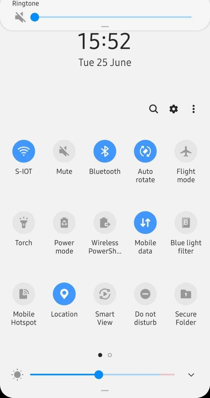 Solved: Auto rotate option missing - Samsung Community