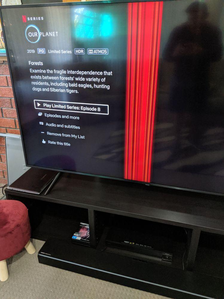 Netflix's Dolby Atmos on Samsung Tv