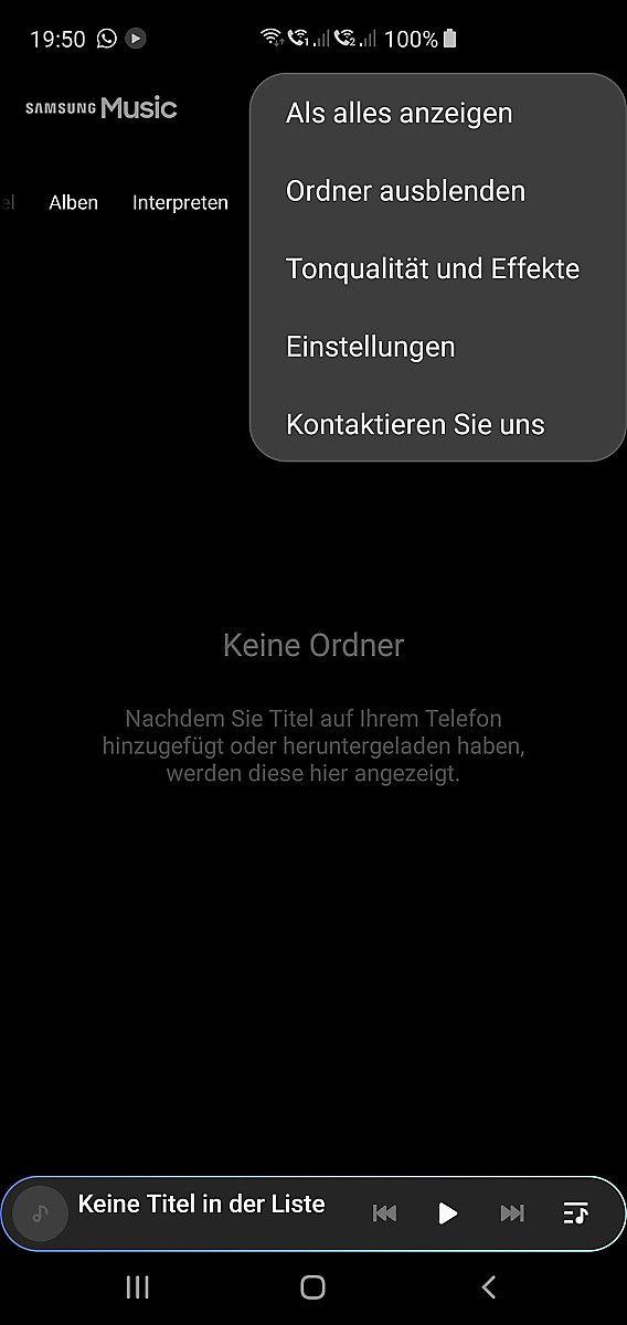 Gelost Systemupdate Andert Einfach Musikordner Seite 2 Samsung Community