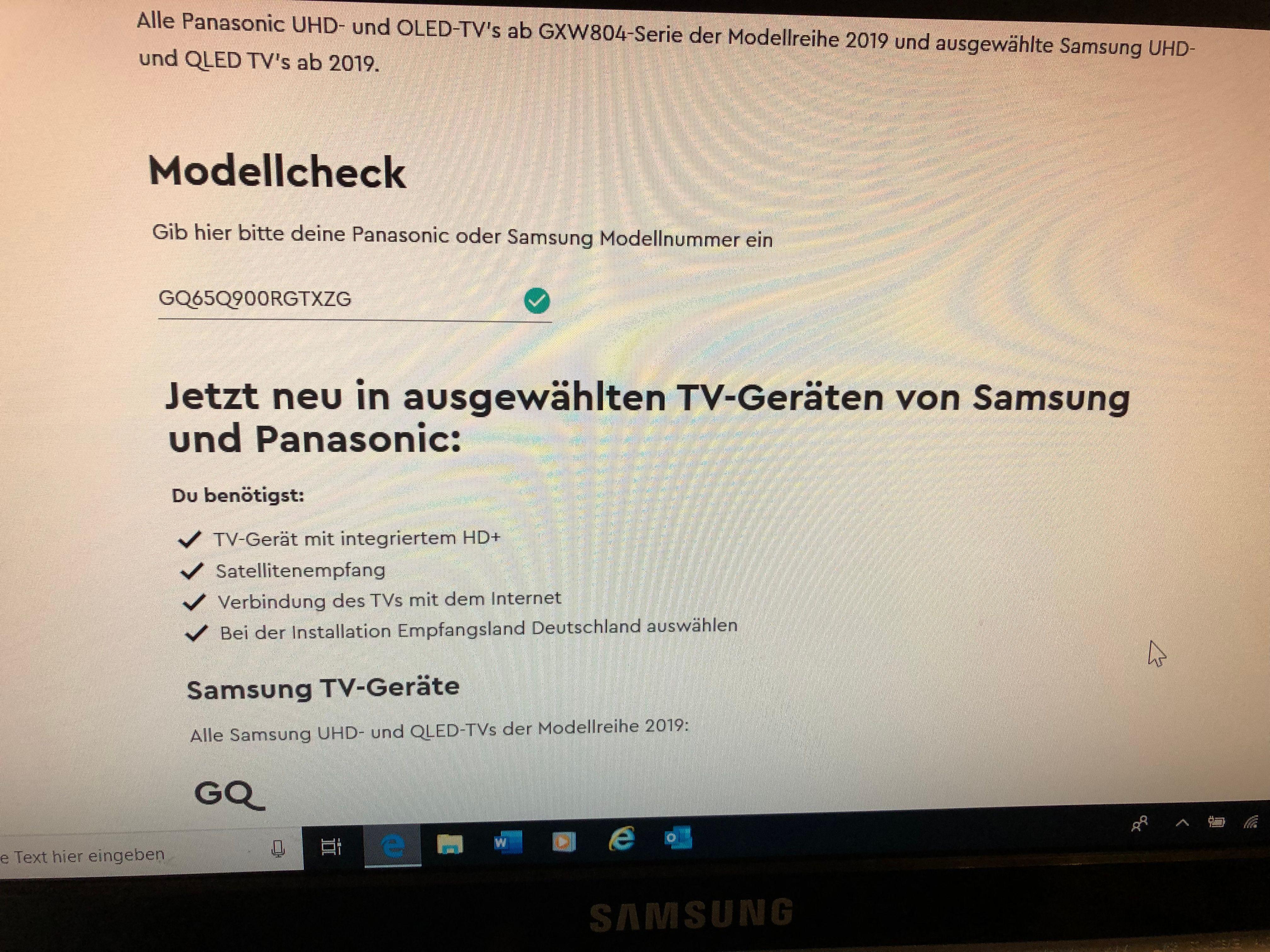 Hd Plus Karte Aktivieren.Hd Aktivierung Bei 2019 Qled Modelle Samsung Community