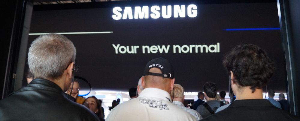 Der Samsung-Stand bei der IFA 2017.JPG