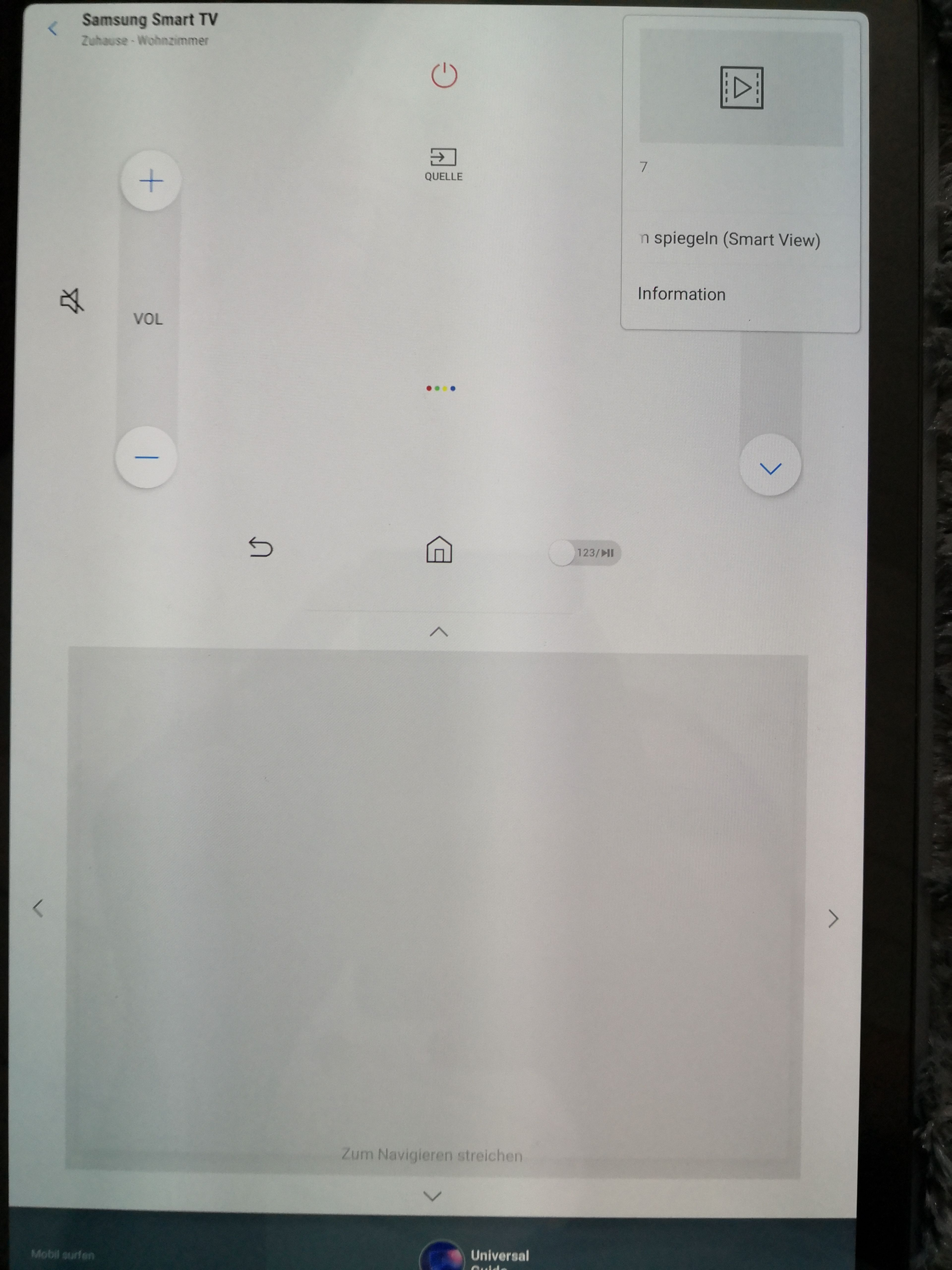 Tablet Auf Tv übertragen