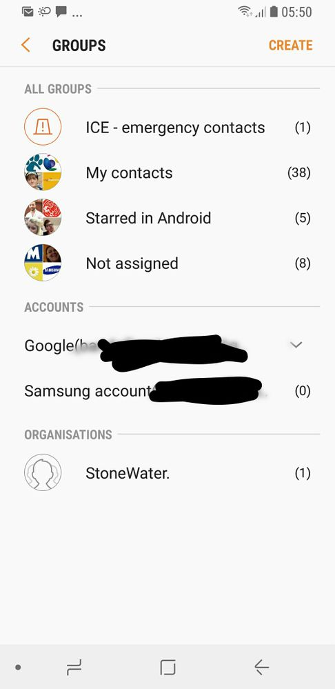 Access To Samsung Contacts List Samsung Community