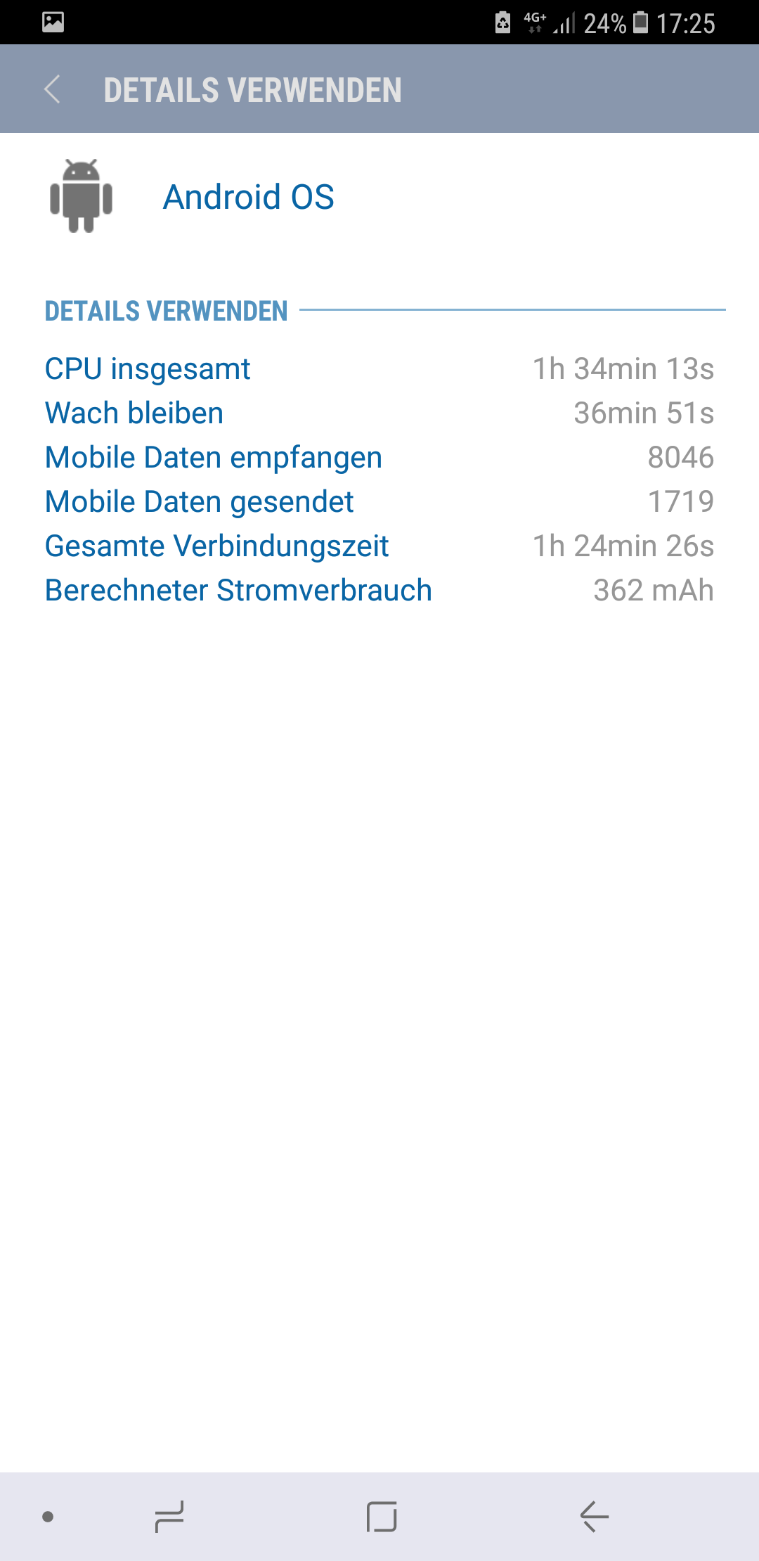 Akkuverbrauch S8android System Zieht Strom Samsung Community