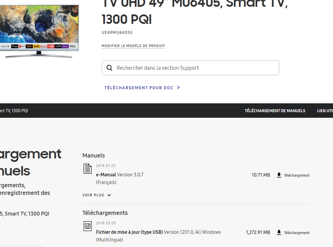 Resolu Plus De Connexion Internet Smart Tv Samsung Community