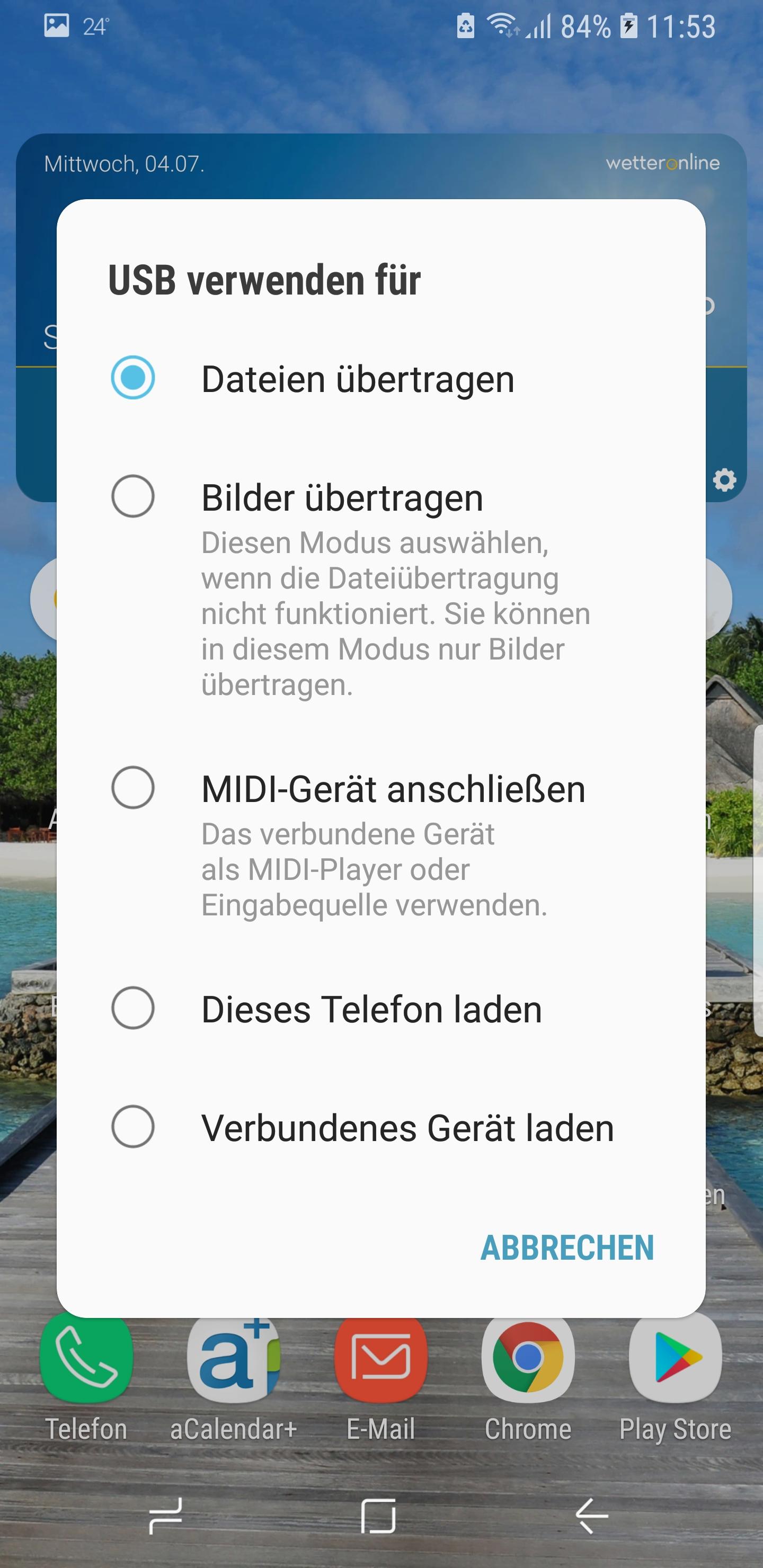 Datenaustausch S9 Und Pc Nicht Möglich Samsung Community