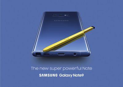 Maak kennis met de nieuwe krachtpatser: de Galaxy Note9!