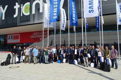 Evénement Communautés Européennes Samsung IFA 2018
