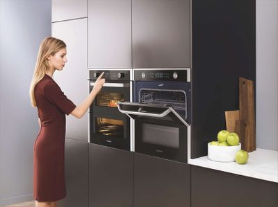 Spart Zeit und Energie – die neue Art zu Backen mit den Samsung Dual Cook Flex Backöfen