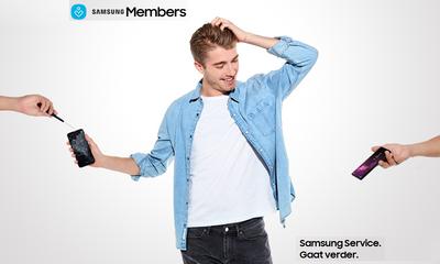 Ontvang tot €50 korting op schermreparaties via Samsung Members!