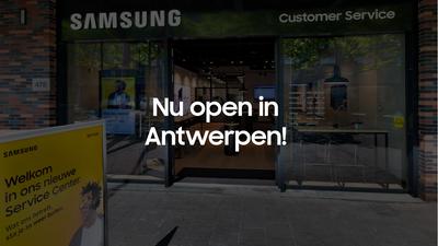 Nieuw: beleef Samsung in ons Service Center Antwerpen!