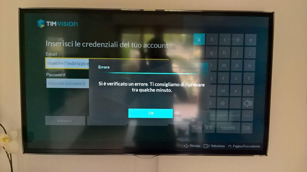 app timvision su smart tv samsung