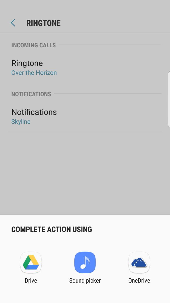 Solved Cant Change Ringtone Samsung Community