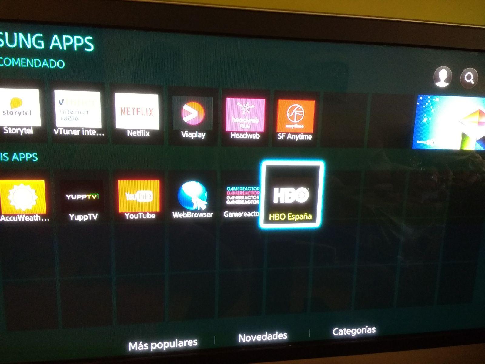 hbo go samsung smart tv app