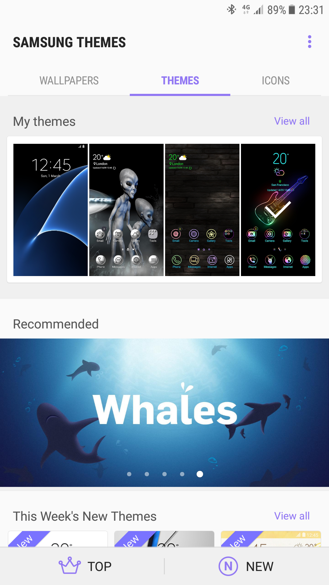 samsung how to stop always on display from floating